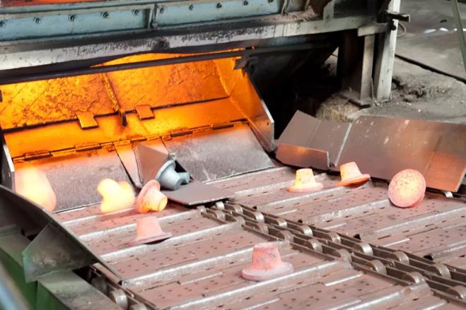 объемная штамповка металла