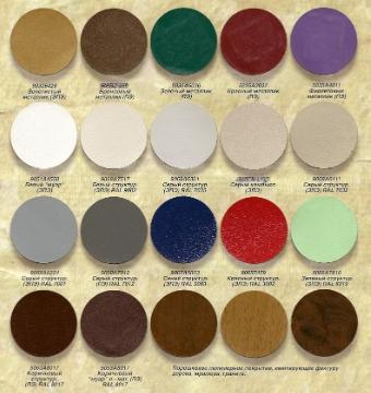 Основные характеристики порошковых красок
