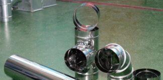 Трубы для вентиляции из нержавеющей стали