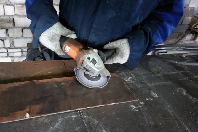 полировка листового металла