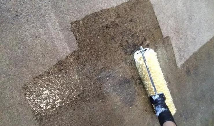подготовка поверхности под грунт